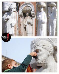Tre statue